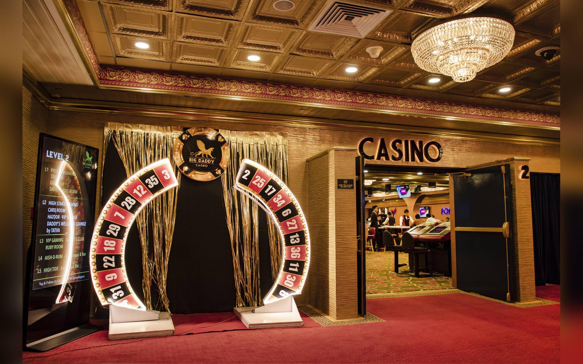 Big Daddy Casino Entrance