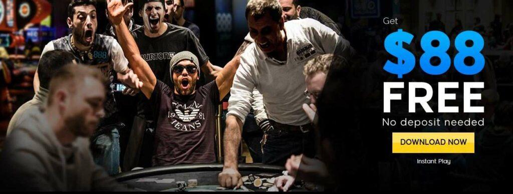 888 Poker Bonus Code