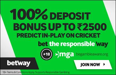 betway india bonus